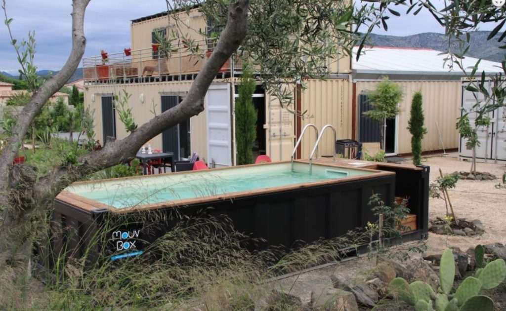 votre piscine dans un container maritime recycl mer oc an. Black Bedroom Furniture Sets. Home Design Ideas